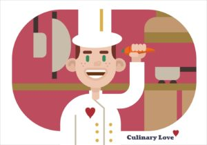 culinary love logo